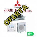 Aires acondicionados 6000 frigorias por conductos