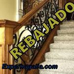 Escaleras de madera antigua
