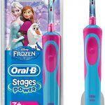Cepillos de dientes eléctricos frozen
